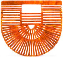 - Cult Gaia - Ark clutch bag - women - Acrylic - Taglia Unica - ORANGE