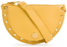 See By Chloé - Borsa a spalla 'Kriss Mini' - women - Calf Leather/Leather - One Size - YELLOW & ORANGE