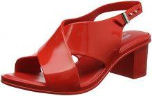 Melissa JW Jamie, Sandali con Cinturino alla Caviglia Donna, Red (Red), 38 EU