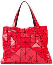 Bao Bao Issey Miyake - Borsa a mano con pattern geometrico - women - PVC/Polyester - OS - RED