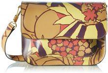 BREECambridge 7 S17 - Borsa a tracolla Donna , multicolore (Mehrfarbig (jungle Print)), Taglia unica