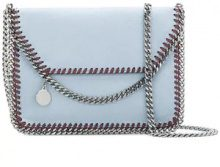 Stella McCartney - Borsa Clutch 'Falabella' - women - Polyester - One Size - BLUE