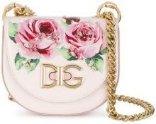 Dolce & Gabbana - Borsa 'Wifi' piccola - women - Calf Leather - One Size - PINK & PURPLE