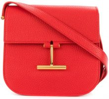 Tom Ford - Borsa a tracolla 'Tara' - women - Calf Leather/Cotton/Polyester/Brass - One Size - RED