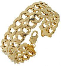 Adara-Bracciale in oro giallo 9 kt, 21,5 cm