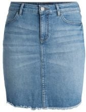 PIECES Denim Skirt Women Blue