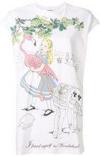 Scrambled_Ego - T-shirt 'Wonderland' - women - Cotton - OS - WHITE