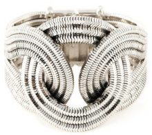 Lara Bohinc - 'Solar Eclipse' large bracelet - women - Platinum - OS - METALLIC