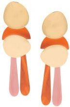 Lizzie Fortunato Jewels - Mamba earrings - women - Gold Plated Brass - OS - METALLIC