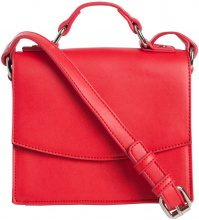 PIECES Classic Solid Crossbody Bag Women Red