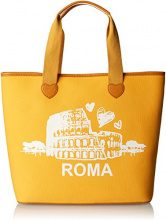 Twin Set As8pna, Borsa a Spalla Donna, Giallo (St.Roma Golden Yellow), 15x36x34 cm (W x H x L)