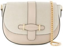 Marc Ellis - Megan shoulder bag - women - Leather/Suede - One Size - NUDE & NEUTRALS