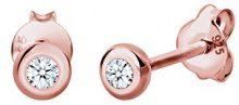 Diamore Orecchini a perno Donna argento - 307681017