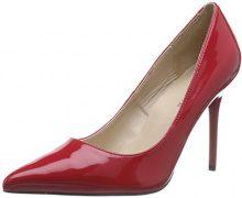 Pleaser Classique 20, Scarpe col Tacco Classiche Donna, colore rosso (red pat), taglia 46