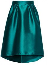 ONLY High Low Skirt Women Green