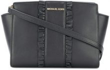 Michael Michael Kors - Borsa messenger 'Selma' - women - Leather - One Size - BLACK