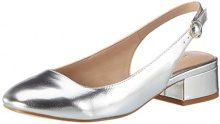 ALDO Eteani, Ballerine Donna, Argento (81 Silver), 38.5 EU