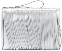 Gum - Clutch con frange - women - Leather - OS - METALLIC