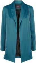 Y.A.S Shiny Soft Blazer Women Blue
