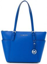 Michael Michael Kors - Borsa Tote 'Jet Set' - women - Calf Leather - One Size - BLUE