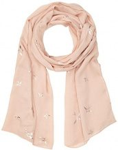 PIECES Pcillumina Long Scarf, Sciarpa Donna, Rosa (Evening Sand Evening Sand), Taglia unica