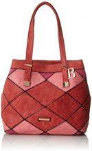 Bulaggi Gear Shopper - Borse Tote Donna, Rot, 14x32x33 cm (B x H T)