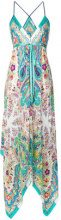 Etro - mixed print maxi dress - women - Silk/Acetate/Viscose/Cotone - OS - Multicolore