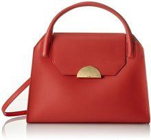 Bree Cambridge 12 - Borse a spalla Donna, Rosso (Massai Red), 14x36x26 cm (B x H T)