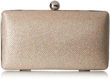 MENBUR Basseterre - Pochette da giorno Donna, Gold (Stone), 6x10x18 cm (B x H T)