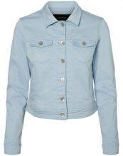 VERO MODA Short Denim Jacket Women Blue