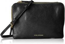 Royal RepubliQ Catamaran Eve Bag, Donna Borse a spalla, Nero (Black) 4.5x14x20 cm (B x H x T)