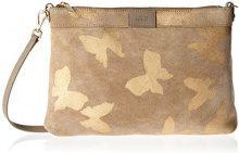 Steffen Schraut Bunche Park Butterfly Crossbody - Borse a tracolla Donna, Braun (Hazelnut), 5x22x32 cm (B x H T)