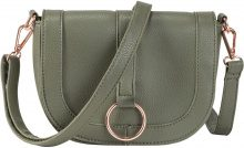 Borsa a tracolla con anello dorato (Verde) - bpc bonprix collection