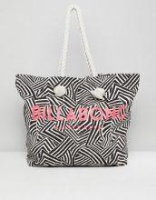 Billabong - Maxi borsa da spiaggia con logo - Nero