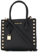 Michael Michael Kors - heart stud tote - women - Leather - OS - Nero