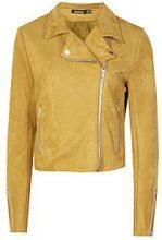 Joslyn Premium Suede Biker Jacket