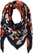 PIECES Printed Scarf Women Blue