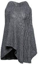ESPRIT Accessoires 107ea1q036, Sciarpa Donna, Grigio (Dark Grey 020), Taglia Unica