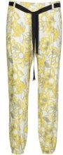 Pantalone Chino Café Noir  JP244 Pantalone Donna Giallo
