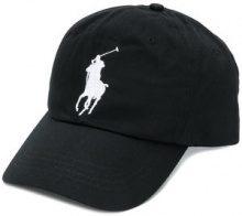 Polo Ralph Lauren - Cappello da baseball con logo - men - Cotton/Leather - OS - BLACK