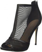 Guess Footwear Dress Shootie, Scarpe col Tacco Punta Aperta Donna, Nero, 39 EU