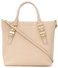 Versace Jeans - Borsa Tote con logo frontale - women - Polyester/Synthetic Resin - One Size - NUDE & NEUTRALS