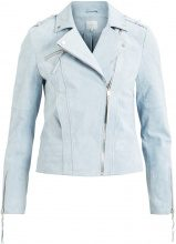 VILA Suede Jacket Women Blue