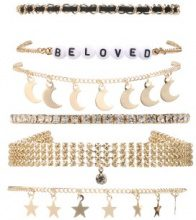 Set di 6 bracciali Beloved
