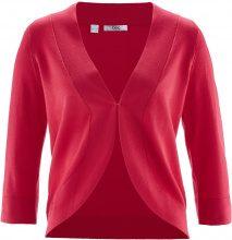 Bolero in maglia a mezza manica (Rosso) - bpc bonprix collection