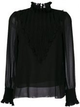 See By Chloé - Blusa a collo alto - women - Polyester/Cotton - 40 - BLACK