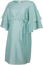 MAMA.LICIOUS Striped Maternity Dress Women Green