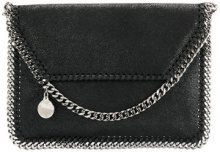 Stella McCartney - Borsa a spalla 'Falabella' mini - women - Artificial Leather/Metal (Other) - One Size - BLACK