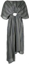 Barbara Bologna - Abito 'Circle' - women - Viscose/Silk/Polyamide - One Size - GREY