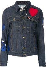 Zadig & Voltaire - Giacca jeans - women - Cotton/Spandex/Elastane - S - BLUE